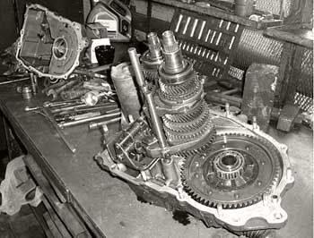 ремонт коробки передач 2109